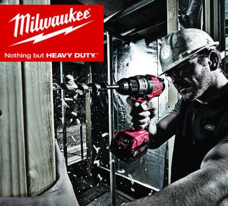 Milwaukee leverer heavy duty værktøj til sortimentet hos Brdr AO